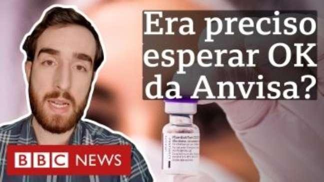 Por que tese de que governo precisava de aval da Anvisa para encomendar vacinas é falha