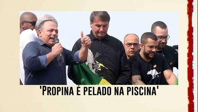 'Propina é pelado na piscina': Bolsonaro defende Pazuello por reunião com intermediária de vacina