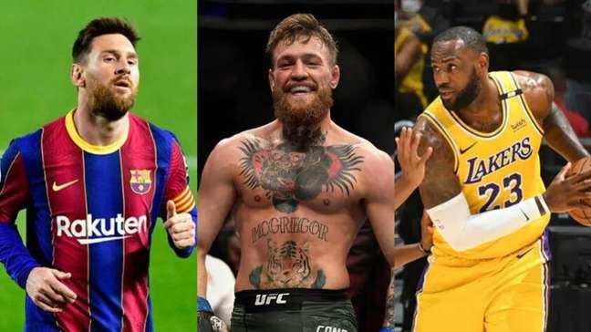 Messi vai ganhar 50% menos? Saiba os 50 atletas mais bem pagos do mundo