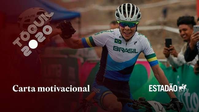 Carta de fã mirim motiva Jaqueline Mourão, do ciclismo, em 7ª Olimpíada