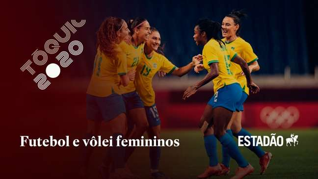 Futebol e vôlei femininos do Brasil vencem e continuam na disputa dos Jogos Olímpicos