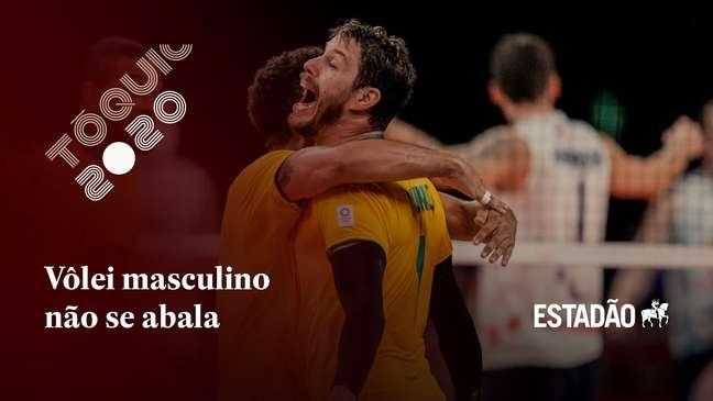 De virada, Brasil ganha dos EUA no vôlei masculino