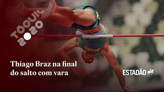 Thiago Braz vai à final e pode repetir ouro olímpico no salto com vara