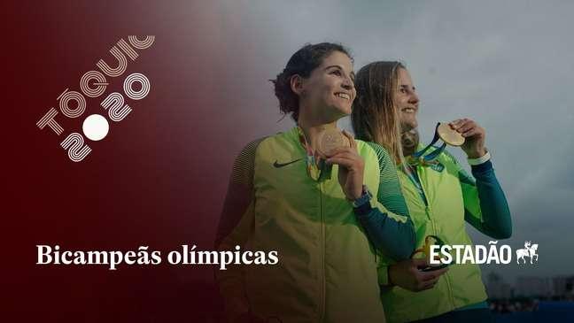 Com Martine Grael e Kahena Kunze, Brasil é bicampeão olímpico na vela 49er FX