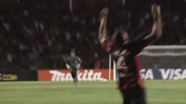 Atlético-PR faz curta-metragem de vaga heroica na Libertadores