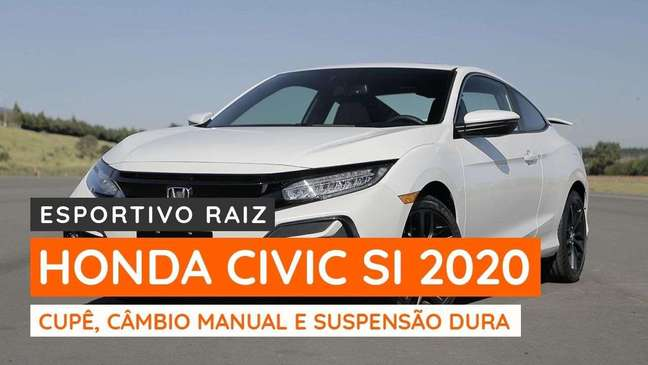 Honda Civic Si 2020 mantém câmbio manual de 6 marchas
