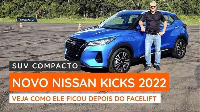 Novo Nissan Kicks 2022 dá um salto de qualidade