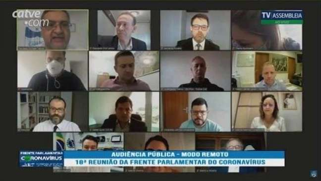 Frente Parlamentar do Coronavírus discute casos de fura-fila no Paraná