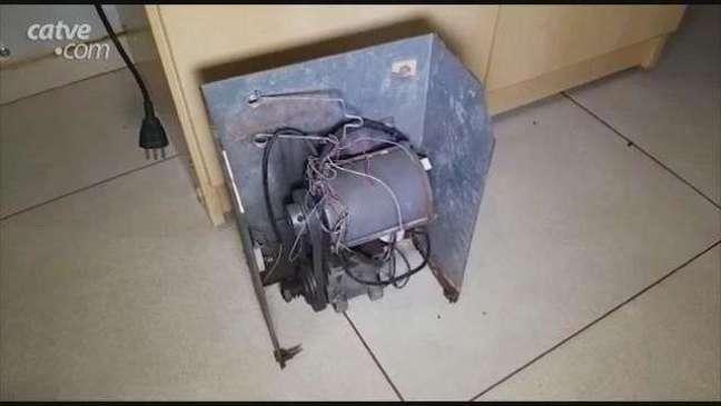 Homem é detido por furto de motores de portões eletrônicos