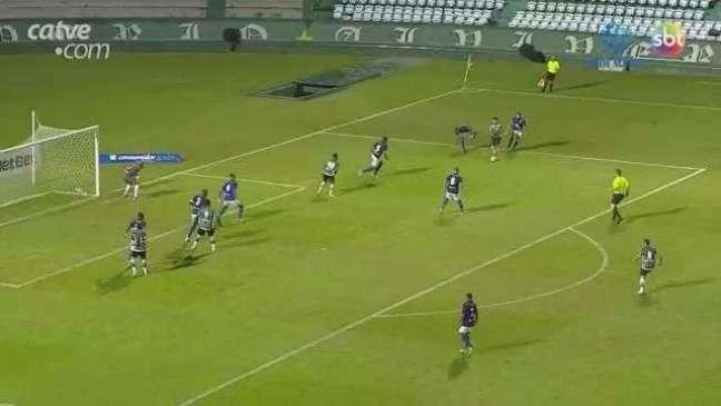 Azuriz sai na frente, mas cede empate ao Coritiba no Couto Pereira