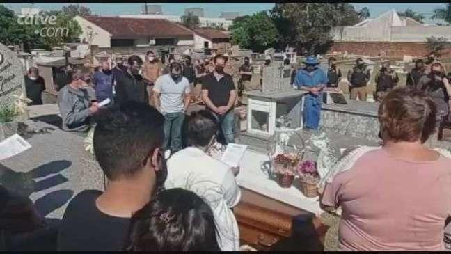 Segurança vítima de latrocínio é sepultado em Toledo