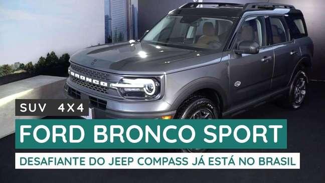 Ford Bronco Sport: conheça os detalhes do SUV 4x4