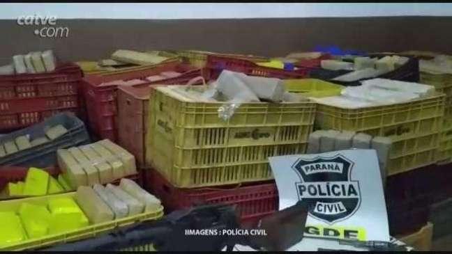 Polícia Civil apreende quase 2 toneladas de maconha em carga de arroz