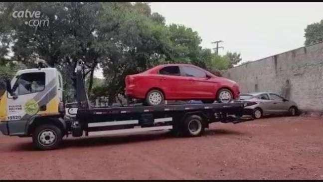 Carro levado em assalto é recuperado pela Polícia Militar em Cascavel