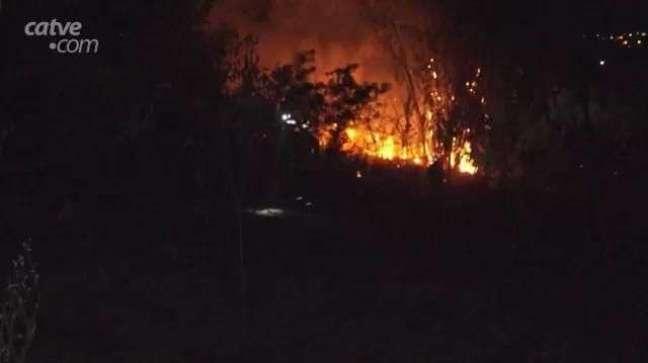 Incêndios em vegetação tem tirado o sossego de moradores de Cascavel