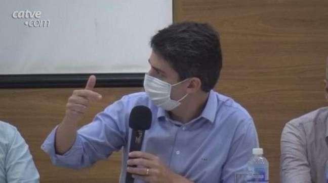 Secretário Valdemar Bernardo Jorge participa de reunião em Toledo