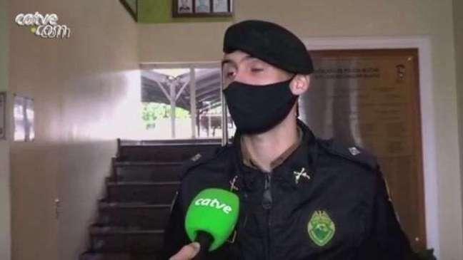 PM fala sobre prisão pelo crime de 'stalking' e roubo ocorridos em Cascavel