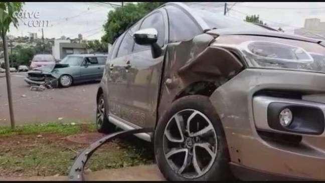 Duas mulheres ficaram feridas em acidente no Parque São Paulo