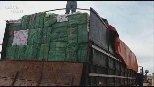 Homem é preso com 450 caixas de cigarros paraguaios em Toledo