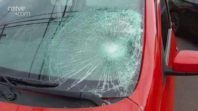 Jovem fica ferido após atropelamento em Cascavel