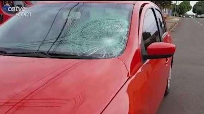 Jovem fica ferido após ser atropelado no Bairro Pioneiros em Cascavel