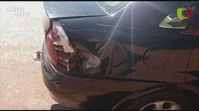 Motociclista fica ferido em acidente no Bairro Bom Jesus em Toledo
