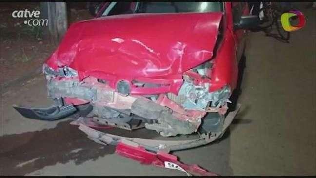 Jovem haitiano fica ferido em acidente entre automóveis em Toledo