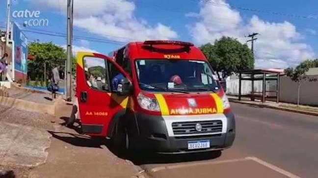 Mulher de 51 anos fica ferida após ser atropelada no Bairro Periolo