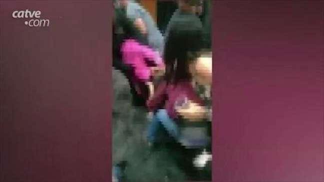 Vídeo registra briga e aglomeração em bar na região norte de Cascavel