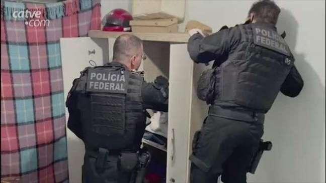 Operação da PF combate lavagem de dinheiro do tráfico de drogas e prostituição