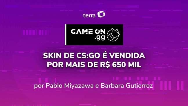 Skin de CS:GO é vendida por mais de R$ 650 mil