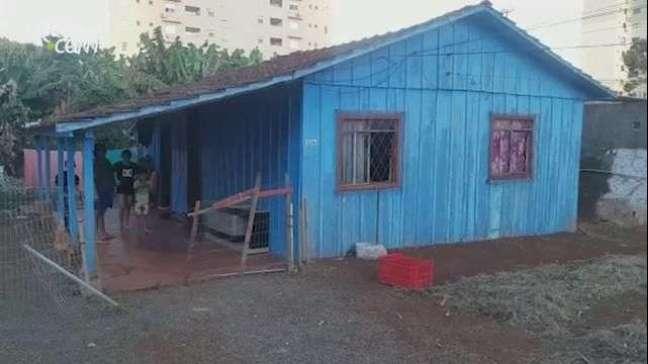 Família faz rifa para comprar casa própria em Cascavel