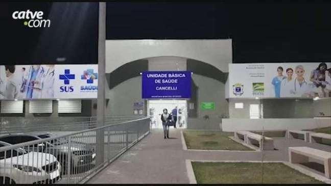 Procura por vacina da Covid-19 é baixa na UBS do Cancelli à noite