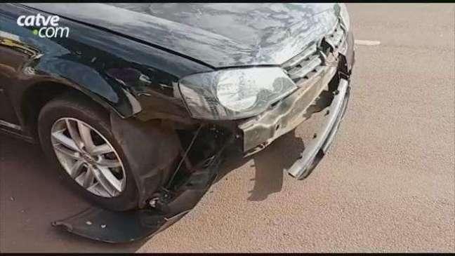 Motociclista sofre fatura após acidente de trânsito em Toledo