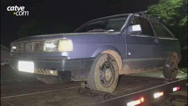 Carro é recuperado no Bairro Interlagos