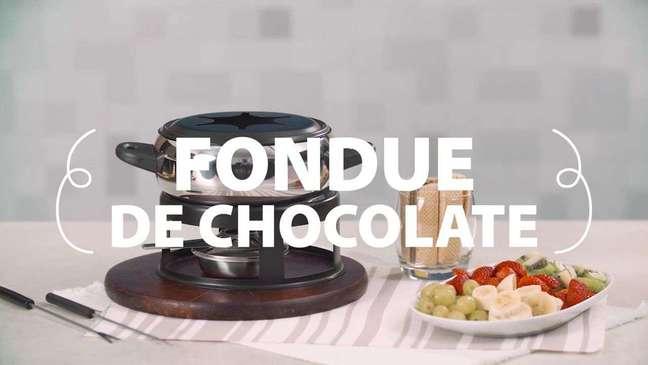 Como fazer Fondue de Chocolate caseiro