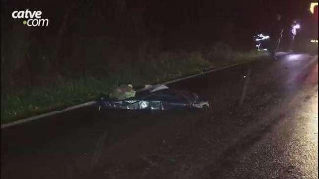 Homem morre ao ser atropelado por van na BR 467, próximo de Sede Alvorada