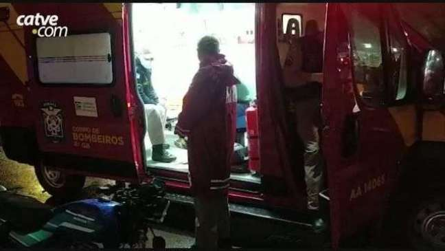 Acidente entre carro e moto é registrado em Toledo