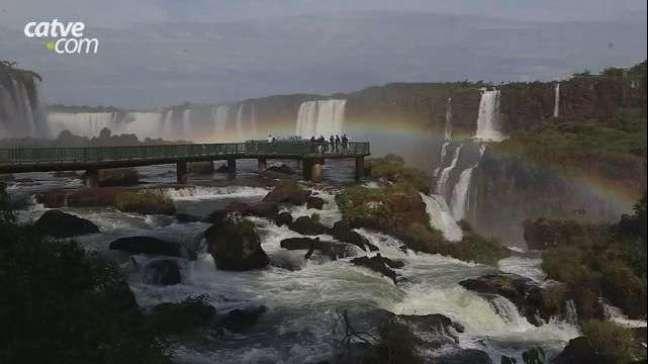 Cataratas do Iguaçu volta a atingir vazão de 1 milhão de litros por segundo