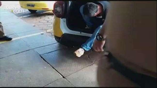 Homem tranca mulher no banheiro de casa e é detido pela PM em Cascavel