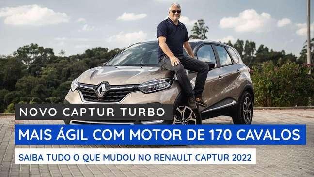 Novo Renault Captur: veja o que mudou com o turbo