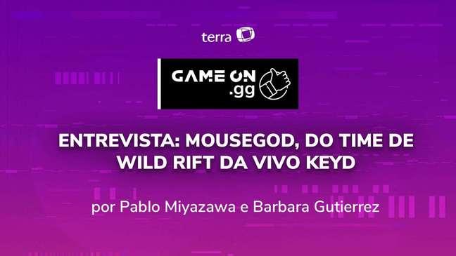 Entrevista: MouseGod, do time de Wild Rift da Vivo Keyd