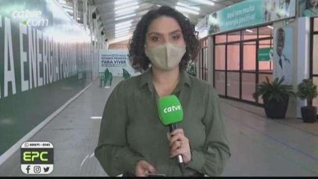 Pessoas com 32 anos ou mais são imunizadas contra Covid-19 em Cascavel