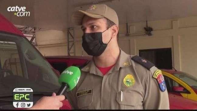 Corpo de Bombeiros alerta para riscos de acidentes com aquecedores improvisados