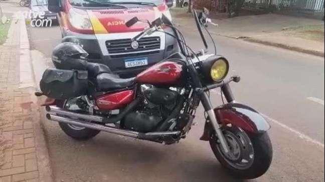 Criança fica gravemente ferida ao ser atropelada por moto no Alto Alegre