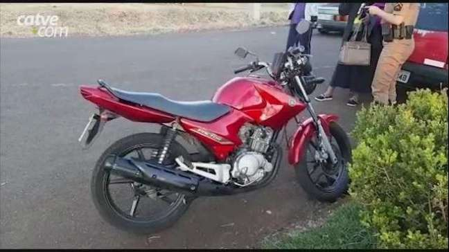 Motociclista fica ferido em acidente de trânsito no Bairro Floresta