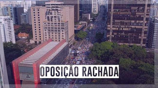 Em São Paulo, veja como foi ato a favor do impeachment de Bolsonaro