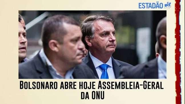 Bolsonaro abre hoje Assembleia-Geral da ONU