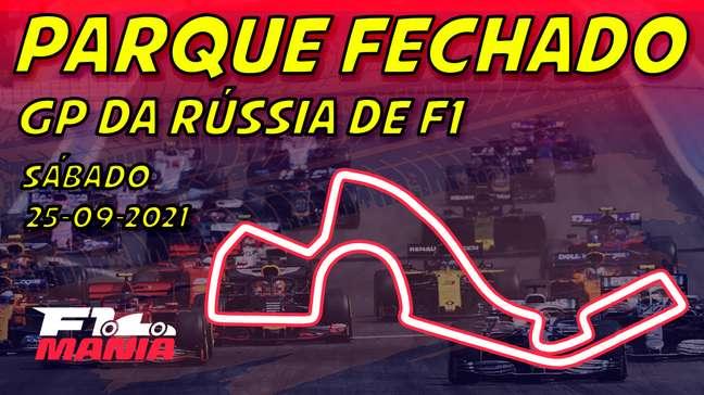 Parque Fechado: grid de largada da F1 para o GP da Rússia