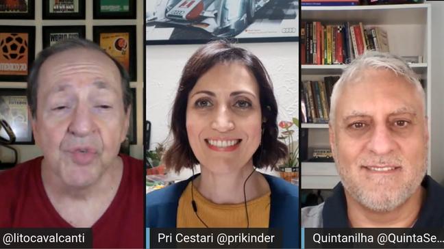 Análise do GP da Rússia com Lito, Priscila e Quintanilha